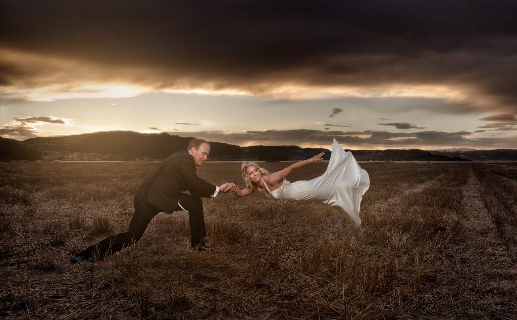 5 spesielle bryllupsbilder fra Trondheim