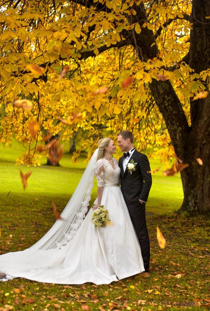Bryllupsfotograf – Hanne & Johan