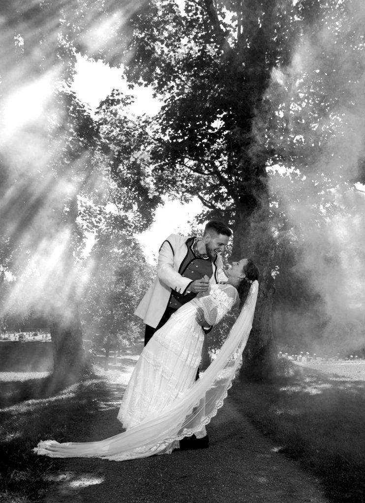 Bryllup i Stjørdal – Pauline og August